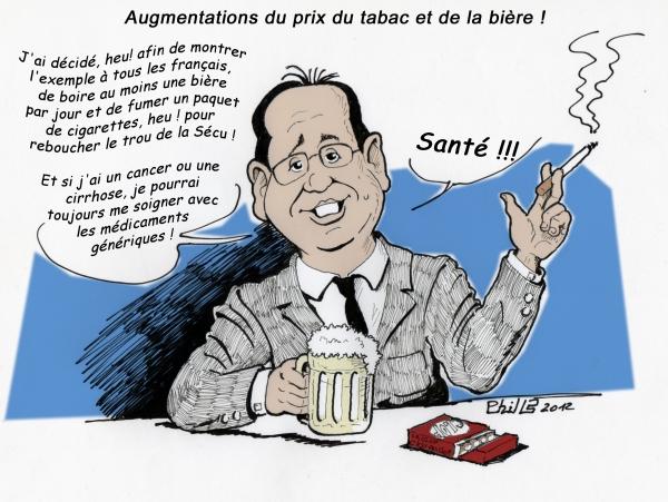 François Hollande by PhilLP